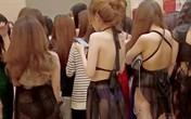 Quán karaoke có nữ tiếp viên 13 tuổi mặc đồ khiêu dâm phục vụ khách