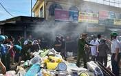 Nghệ An: Cháy ki ốt ở chợ Hưng Dũng, tiểu thương hoảng loạn ôm hàng bỏ chạy