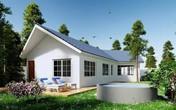 """Phó Thiên Lôi trong """"Táo quân 2019"""" tặng bố mẹ nhà vườn 1000 m2 đẹp như ở Châu Âu"""