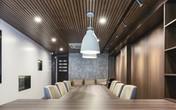 Ngôi nhà 7 tầng ở Phan Chu Trinh biến 1 tầng nhà thành khu văn phòng hiện đại bằng gỗ tuyệt đẹp