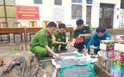 Hà Tĩnh: Số lượng lớn vũ khí, vật liệu nổ nguy hiểm được tiêu hủy