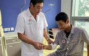 Bệnh nhân đầu tiên vỡ vụn chỏm xương được nối xương bằng kỹ thuật mới siêu nhanh