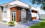 Mẫu nhà cấp 4 hai phòng ngủ đẹp như mơ ở Đăk Lăk chỉ 400 triệu đồng
