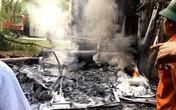 Tai nạn thương tâm tại Hải Dương: Tài xế chết cháy trong ca bin
