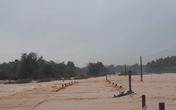 Lụt cục bộ, nhiều trường học tại Hà Tĩnh có nguy cơ không thể khai giảng