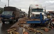 Xe ba gác mất lái bị ô tô đầu kéo tông trực diện, tài xế tử vong