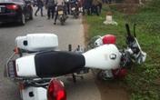 Hải Dương: Trung úy Cảnh sát giao thông bị xe máy đâm chấn thương sọ não
