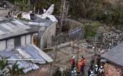 Lại rơi máy bay ít nhất 7 người thiệt mạng