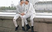 Hồ Vĩnh Khoa và bạn đời tung bộ ảnh kỷ niệm 2 năm ngày cưới tại London: Ngọt ngào 'tan chảy', nhìn mà ghen tị!