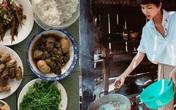 """""""Hoa hậu nghèo nhất Việt Nam"""" chia sẻ mâm cơm, chứng minh bản thân không giản dị"""