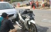 Va chạm liên hoàn với 2 ô tô, vợ chết chồng nguy kịch khi đang trên đường tới công ty làm việc