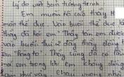 Thầy giáo thừa nhận có lời lẽ khiếm nhã với nữ sinh lớp 10