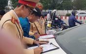 Hà Nội: Vừa mua xe ô tô, chủ xe bị phạt 40 triệu, tước GPLX 2 năm do vi phạm nồng độ cồn
