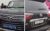 Xe Lexus đầu biển xanh, đuôi biển trắng ở chùa Tam Chúc gây xôn xao dư luận