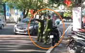Hi Hữu: Chiến sĩ công an huyện đi vào đường ngược chiều do lâu ngày không lên thành phố