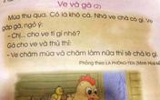 """Học sinh THPT khó hiểu nội dung trong SGK Tiếng Việt 1, nhiều phụ huynh """"phát cáu"""" khi dạy con học bài"""