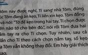 Toán lớp 3: Kẹo nằm ở 1 trong 2 tay Tôm, nhưng Tí chọn 5 lần không trúng, lời giải gây bất ngờ