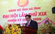Ông Phạm Minh Chính chỉ đạo Đại hội Đảng bộ tỉnh Hà Tĩnh