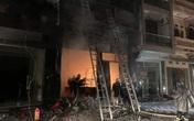 Cơ sở gas vừa bị cháy khiến 5 người mắc kẹt tại Hà Nội hoạt động chui