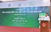 Chính thức ra mắt ứng dụng kiểm tra nội tiết tố nữ đầu tiên tại Việt Nam