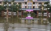 Trường học ngập nước, học sinh nhiều nơi chưa thể đến trường