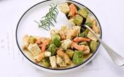 """Nửa tháng trung thành với món salad này, """"bụng mỡ"""" của tôi đã giảm đi trông thấy"""