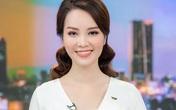 """Á hậu Thụy Vân lên sóng bản tin """"Chuyển động 24h"""" đập tan tin đồn nghỉ việc ở VTV"""