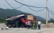 Đồng nghiệp phát hiện tài xế xe ben gục chết trong cabin