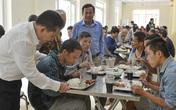 Bữa ăn ấm lòng của 314 người lang thang giữa lòng Hà Nội