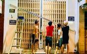 Người dân Đà Nẵng chằng néo nhà cửa đón bão số 9 trong đêm
