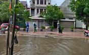 Mưa lớn do bão số 9, Hà Tĩnh ngập trở lại