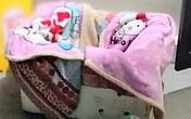 Hải Phòng: Phát hiện bé gái 8 tháng tuổi bị bỏ rơi trước cửa nhà