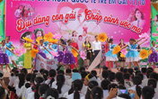 Nghệ An: Tổ chức truyền thông hưởng ứng ngày Quốc tế trẻ em gái