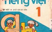 Hình ảnh sách Tiếng Việt lớp 1 của 30 năm trước