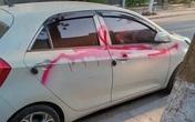 Khởi tố nhóm bảo vệ xịt sơn lên xe ô tô không chịu vào bãi gửi