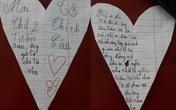 """Bức thư """"tỏ tình"""" của cô bé lớp 4 gây sốt cộng đồng mạng, bất ngờ nhất là phản ứng người nhận thư và câu nhận xét cực chất từ cô giáo"""