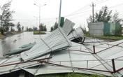 Hình ảnh sau bão số 13 tại Quảng Bình