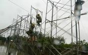 Cán bộ Truyền tải điện Hà Tĩnh ứng trực 24/24 trong mùa mưa lũ