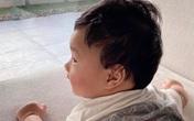 Con trai hơn 5 tháng bụ bẫm kháu khỉnh của Hoa hậu Đặng Thu Thảo