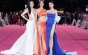 """Thảm đỏ Hoa hậu Việt Nam 2020: Tiểu Vy """"chặt đẹp"""" dàn hậu trước thềm trao lại vương miện"""
