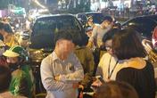 Hà Nội: Tài xế Fortuner gây tai nạn liên hoàn, tông xe biển xanh và hàng loạt phương tiện giữa phố đông đúc