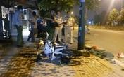 Sau chầu nhậu, nam thanh niên tự đâm xe vào cột đèn tử vong