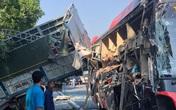 Xe khách va chạm xe tải trên cao tốc Pháp Vân – Cầu Giẽ, nhiều người nhập viện cấp cứu