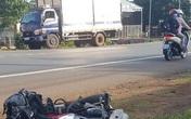 Xe máy đâm vào đuôi xe tải, một người tử vong