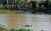 Phát hiện thi thể người đàn ông thường xuyên đi lang thang dưới kênh nước