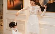 Người mẫu Hồng Quế đưa con gái đi show Hà Duy