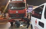 Hải Phòng: Va chạm với xe container, 1 thai phụ thiệt mạng