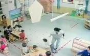 Bé mẫu giáo phải khâu 8 mũi vì bị ném xuống sàn