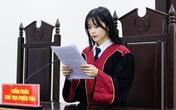 """Nữ sinh năm cuối Học viện Tòa án gây """"sốt"""" với hình ảnh xinh đẹp"""