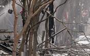 Khung cảnh tan hoang sau vụ nổ ngày Giáng sinh ở Mỹ